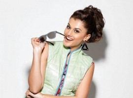 South Indian Actress Taapsee Pannu Photoshoot for Filmfare Magazine August 2015.