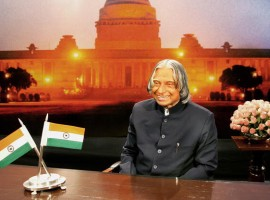 Here are APJ Abdul Kalam's ten inspiring quotes.