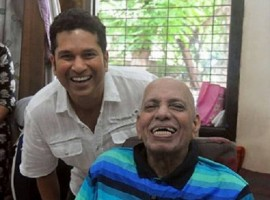 On the auspicious occasion of Guru Purnima - an Indian festival dedicated to spiritual and academic teachers -- Tendulkar greeted 83-year-old Achrekar and once again thanked him for teaching him all he knows about cricket.