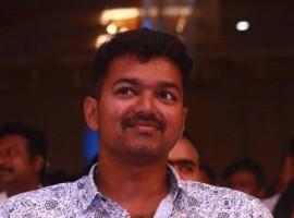 Actor Vijay at Puli Audio Launch.