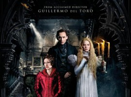 Crimson Peak is an upcoming 2015 American Gothic romance horror film. Directed by Guillermo del Toro and written by del Toro and Matthew Robbins. The film stars Mia Wasikowska, Tom Hiddleston and Jessica Chastain in the lead roles.