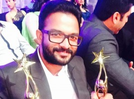 Jayasurya bags the award for best actor in supporting role and best villain in SIIMA Awards 2015
