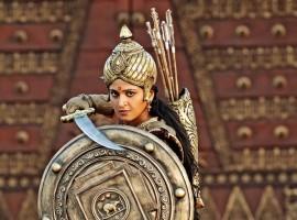 Rudhramadevi is an upcoming Telugu historical film, directed by Gunasekhar in 3D. The film is being dubbed into Tamil and Malayalam and has Anushka Shetty, Allu Arjun, Rana Daggubati, Vikramjeet Virk, Prakash Raj, Krishnam Raju, Nithya Menon, Baba Sehgal and Catherine Tresa.