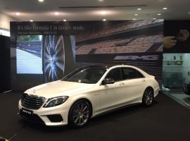 Photos of Mercedes AMG S63 Sedan Car.
