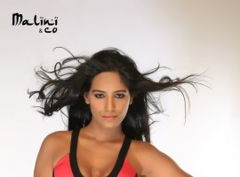 Actress Poonam Pandey Stills from Malini and Co.