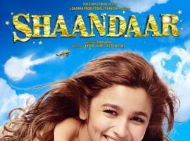 Alia Bhatt and Shahid Kapoor's Shaandar Movie First Look Poster.