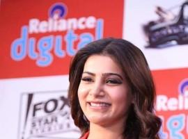 South Indian Actress Samantha at 10 Enradhukulla Teaser Launch.