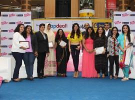 Photos of Pink Power women Entrepreneurs Awards.