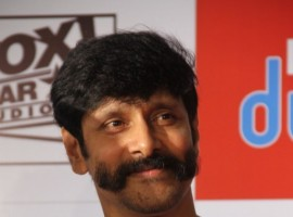 South Indian Actor Vikram's New Look for his Next Movie.