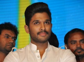 South Indian Actor Allu Arjun Latest Pictures.