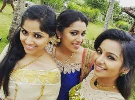 Jewel Mary, Mrudula Murali Attend Onam Special TV Shows