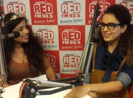 Bollywood Actress Kangana Ranaut and Imran Khan are busy promoting their upcoming movie, Nikhil Advani's 'Katti Batti.'