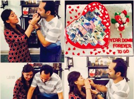 Fahadh Faasil and Nazriya Nazim celebrate their first wedding anniversary on 21 August 2015.