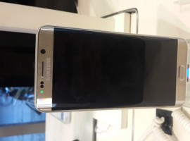 Here are some photos of Samsung Galaxy S6 Edge Plus in different angles to give you a closeup of what Samsung offers in its latest high-end flagship smartphone. Samsung launched the new flagship last week in India and is available in stores and online for Rs. 57,900. The Galaxy S6 Edge Plus features a 5.7-inch Quad HD display with dual-sided curved screen and Gorilla Glass 4 protection. It offers impressive camera quality with its 16-megapixel rear-facing shooter and 5MP front snapper. Under the hood, there's a 64-bit octa-core Exynos 7420 processor, 4GB RAM, 3,000mAh battery. As a part of the launch offer, the Galaxy S6 Edge Plus is bundled with a free wireless charger but the offer ends today.