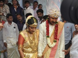 Kannada Actor Shivarajkumar daughter Nirupama's Wedding.