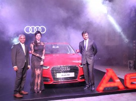 South Indian Actress Pooja Kumar Launched Brand New Audi A6 Matrix in Chennai.