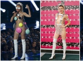 Singer and show host Miley Cyrus attended 2015 MTV Video Music Awards in Los Angeles, California.