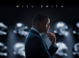 Hollywood Actor Will Smith's Concussion Movie Poster.