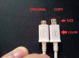 Here's some techniques and tips to find if you have bought an original or a duplicate chargers and USBs of the technology giant Samsung.