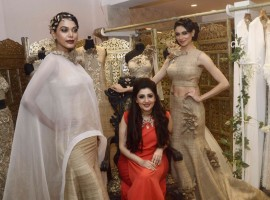 Fashion Designer Archana Kochhar unveils collections for NYFW 2015.