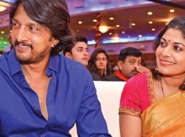 Popular Kannada actor Kichcha Sudeep, who met Priya Radhakrishnan in Bengaluru back in 2000, entered into wedlock in 2001. Priya is from a Nair family of Kerala and the couple has an 11 year old daughter Saanvi.