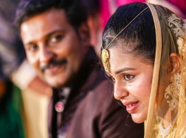 Playback singer Najim Arshad married Thazni Thaha on Sunday, 13 September.