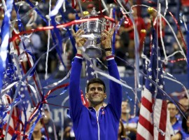 Novak Djokovic vanquished long-time rival Roger Federer to win the U.S. Open on Sunday and put an exclamation point on one of the greatest grand slam seasons of all-time.