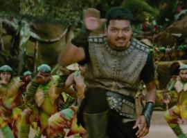 Puli is an Upcoming Tamil flick Vijay, Shruti Haasan, Hansika Motwani, Sridevi and Sudeep in lead role. Directed by Chimbu Deven.