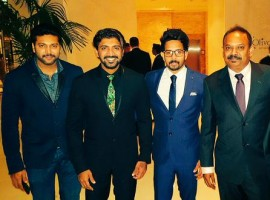 Former Indian cricket player Sachin Tendulkar, actor Arun Vijay, Bharath and director Venkat Prabhu launched the Celebrity Badminton League (CBL) in Dubai on 9 October.