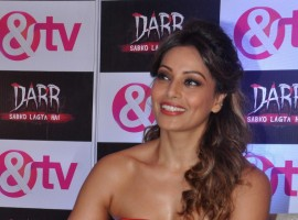 Actress Bipasha Basu at the launch of & TV's new television serial Darr Sabko Lagta Hai, in Mumbai on 20 October 2015.