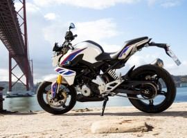 The first offspring from the BMW Motorrad-TVS Motor Company, the G 310 R naked street bike, has been unveiled.