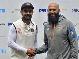Indian spinners ruled the roost as South Africa were reduced to 177/7 at tea on the opening day of the second cricket Test being played at the M. Chinnaswamy Stadium here on Saturday.