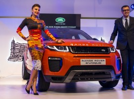 Land Rover India launched the 2016 Range Rover Evoque for Rs 47.1 lakh, ex-showroom Mumbai, (pre octroi).