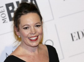 On the red carpet at the British Independent Film Awards in London.
