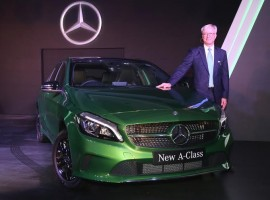 The Mercedes-Benz new A-Class hatchback has been launched with a price tag of Rs 24.95 lakh (ex-showroom, Mumbai).