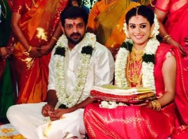 South Indian actress Sshivada Nair married actor Murali Krishnan on 14 December.