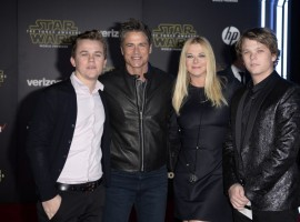 Droids, Jedi and Stormtroopers walk the red carpet for the world premiere of