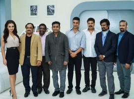 Rajinikanth and Akshay Kumar will be starring in the sequel film Enthiran 2, which was launched on Wednesday, 16 December.
