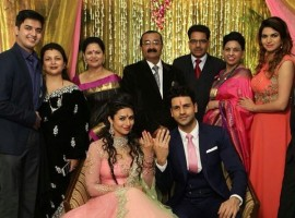 TV actress Divyanka Tripathi and her Yeh Hai Mohhabatein co-star Vivek Dahiya, got engaged on 15 January in a private ceremony.