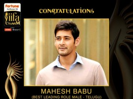 Telugu movie Srimanthudu, Baahubali, and Kannada movie 'Rangitaranga' win laurels at IIFA Utsavam.