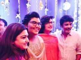 Kushboo Sunder celebrated her daughter Anandita's 13th birthday on 25 January.