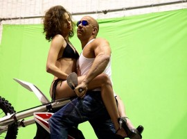 Actor Vin Diesel has shared on his official Facebook page several photographs from the shooting location of upcoming action film