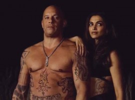 Hollywood star Vin Diesel has shared some stunning photographs of his with Bollywood actress Deepika Padukone from their shooting schedule for the film