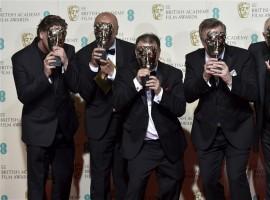 Photos of Britain's biggest movie awards.