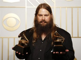 Chris Stapleton holds the awards for Best Country Solo Performance and Best Country Album for