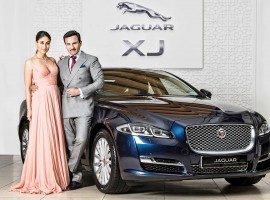 Kareena commends she found the perfect combination of the power royalty while Saif Ali Khan says he found the gorgeous looks and superb style in the new Jaguar XJ