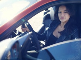 Hollywood actress achieved her personal top speed in the fastest Jaguar ever