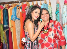 The announcement of 'The Big Brand Show' along with an exclusive preview of Designer Manali Jagtap's latest collection was showcased at