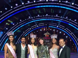 Priyadarshini Chaterjee was announced as the winner of the FBB Femina Miss India World 2016 by superstar Shah Rukh Khan at a star-studded event.