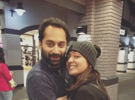 Celebrity couple Fahadh Faasil and Nazriya Nazim are holidaying in London. The actress has shared the photo of their trip on her social media page. The couple got married in a star-studded ceremony 21 August 2014.